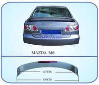 Alta Qualidade Sem Pintura Primer Estilo Fábrica LED ABS Spoiler Asa Para Mazda M6 2003 2008|spoiler wing|abs spoilerled spoiler -
