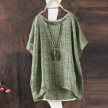 New solid color short-sleeved women's T-shirt cotton comfortable round neck punk style T-shirt casual simple T-shirt ST-D018 цена