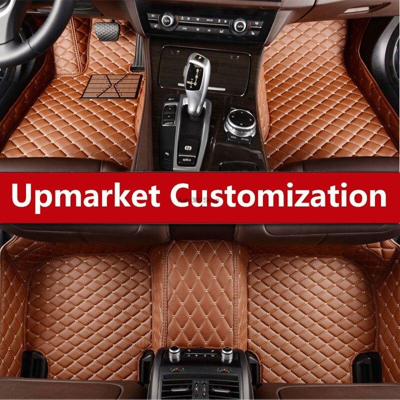 Waterproof Carpets For Toyota Landcruiser Zelas Sequoia Crown 86 Previa Sienna Wishvenza Auto Sticker