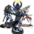 OW Tracer Widowmaker Reaper WINSTON SOLDADO: 76 Modelo Figura de Ação crianças Brinquedos Presentes Coleção Marcador PVC 25 CM jogo figura Genji