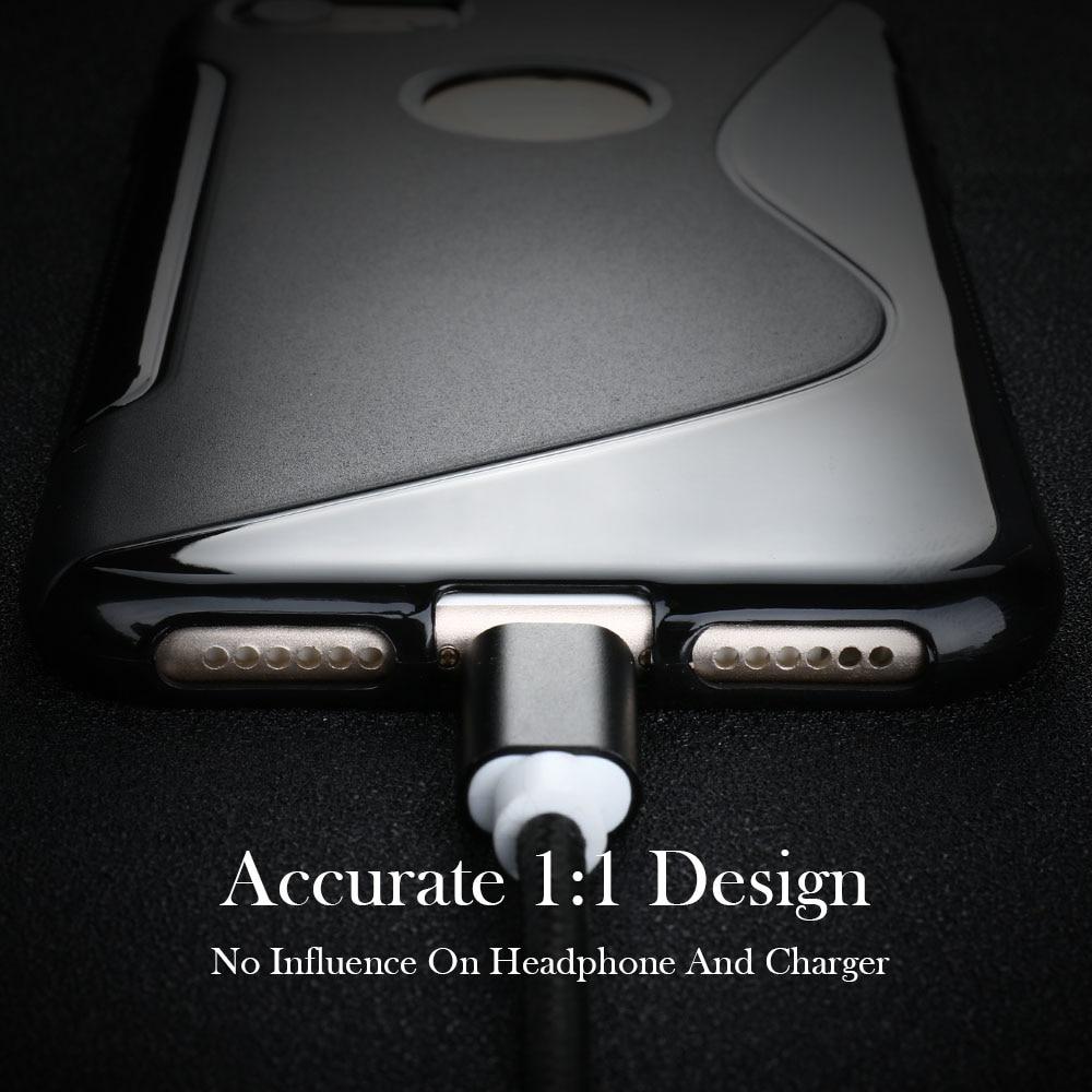 Voor iphone 7 6 6 s plus 5 s se 4 s 5c cover s line telefoon cover - Mobiele telefoon onderdelen en accessoires - Foto 6