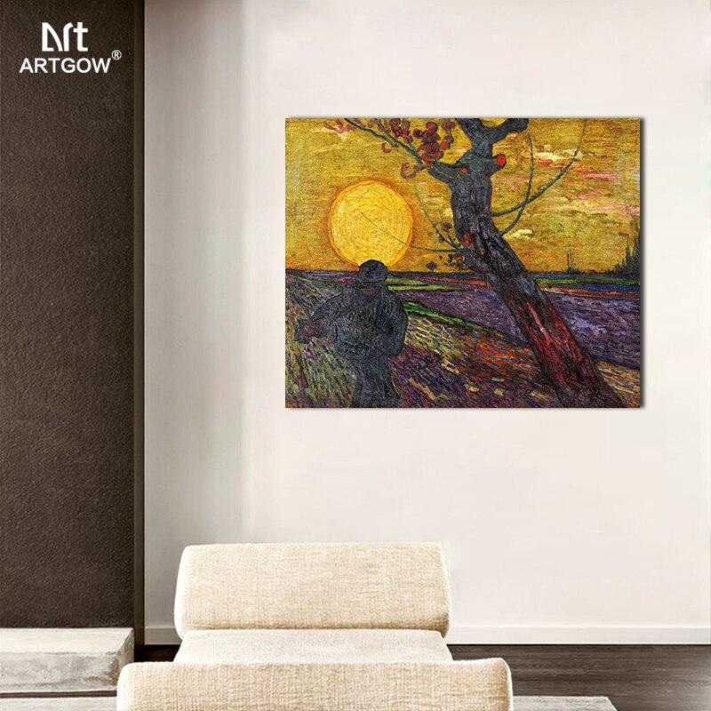 Tamaño grande la siembra famosa de Van Gogh salón Impresión de ...