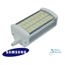 X20 DHL free shipping 118mm 15W LED R7S light  with 48pcs samsung SMD5730 lamp AC85-265V 3 years warranty