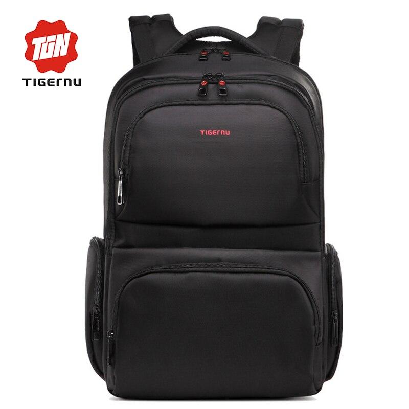 ФОТО Tigernu Brand Waterproof 15.6 Inch Laptop Backpack Leisure School Backpacks Bags mens backpack bag school bags for teenagers