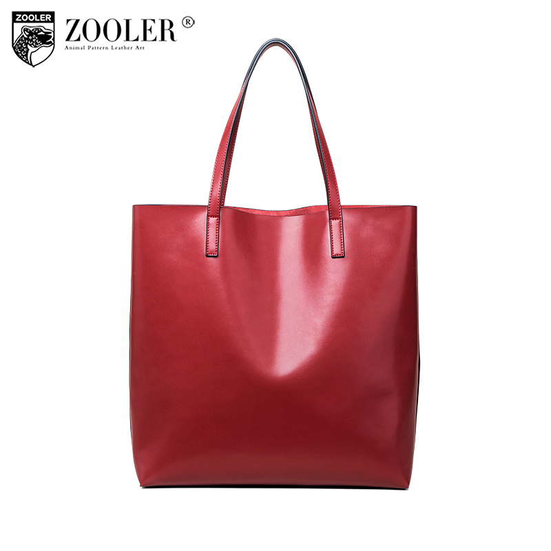 ZOOLER High Quality Genuine Leather Handbag Women Luxury bags shoulder Bags Designer Versatile travel bag bolsa feminina B221 zooler genuine leather bags for women capacity real leather bag luxury casual for lady high quality bags bolsa feminina 2109