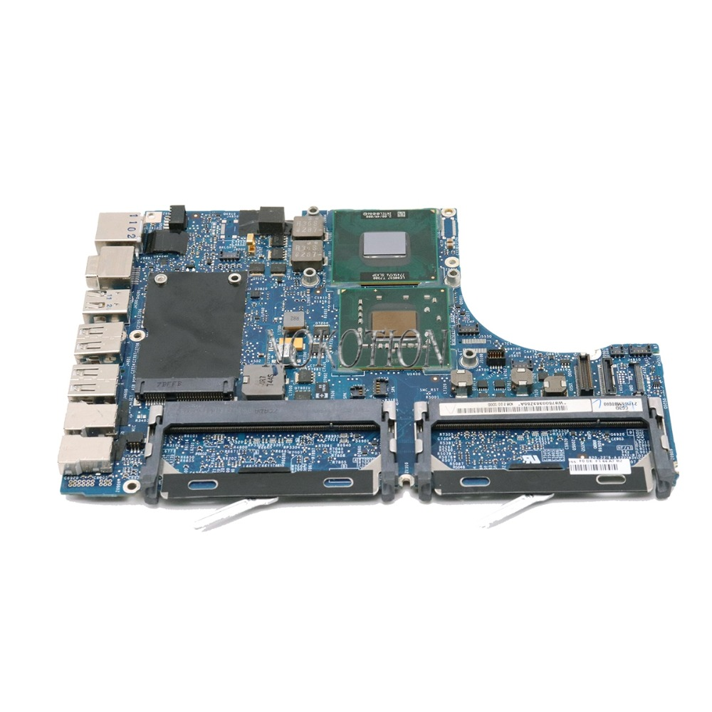 820-2279-A For MacBook pro A1181 laptop motherboard 2008 year T7300 2.00Ghz 965GM