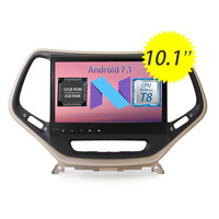 WANUSUAL 10 1inch Quad Core Android 6 0 Car DVD GPS Navigation For JEEP Cherokee 2016