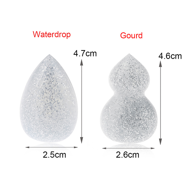 1PC New 3D Silicone Makeup Sponge Powder Puff Foundation Cosmetic Puff BB/CC Cream Beauty Tools Makeup Brushes