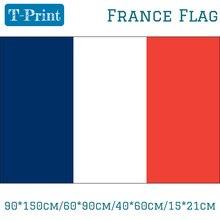 90*150 см/60*90 см/40*60 см/15*21 см 3X2FT Национальный Флаг Франции висит баннер