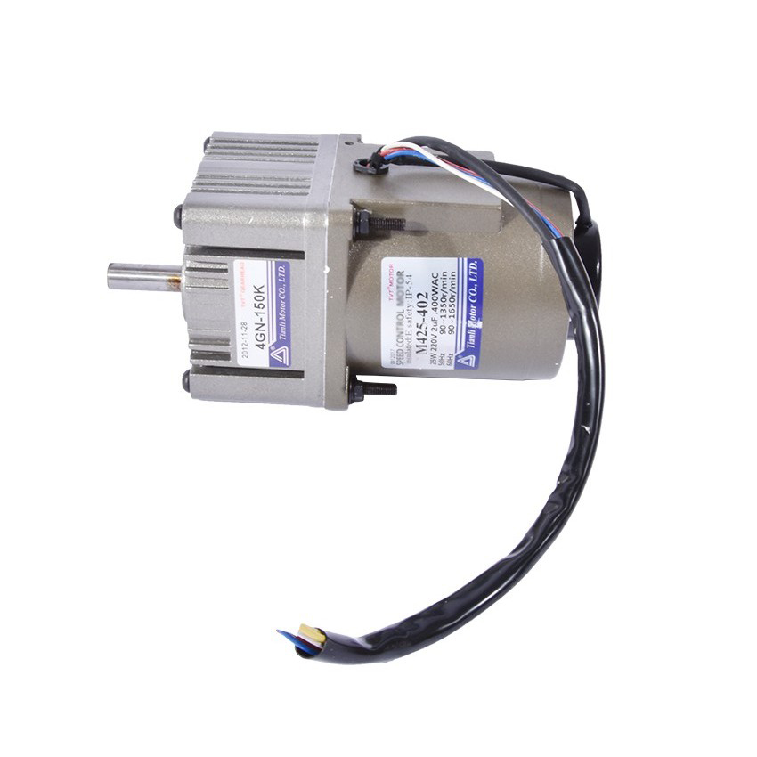 New Arrival 220V 25W 80kg.cm 0.3A AC Gear Motor 9 Revolutions Per Minute Low RPM Gear Reducer Motor +AC Motor Governor Hot Sale