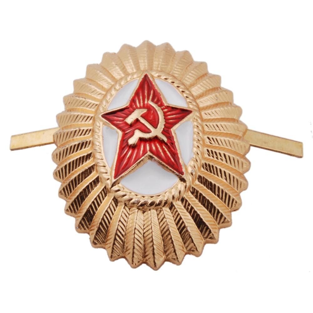 SOVIET UNION USSR ARMY MILITARY BADGE COCKADE - 36284