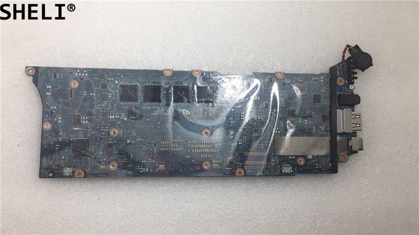 SHELI For  Dell XPS 13 9360 Laptop Motherboard W/ I7-7560U CPU D4J15 0D4J15 CN-0D4J15 LA-D841P