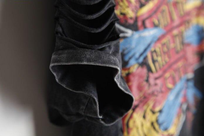 T-shirt Kvinder PLUS STØRRELSE Desigual Punk Rock Fashion Tops - Dametøj - Foto 4