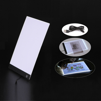 Dimmable Ultra Thin A4 LED Light Tablet Pad Apply to USB Plug Diamond Embroidery Diamond Painting Cross Stitch Kits Drawing