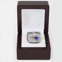 Bottom Price 2001 New England Patriots Replica Super Bowl Copper High Quality World Championship Ring With