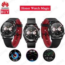 Смарт часы Huawei Honor Watch Magic уличные, оригинальные изящные тонкие с долгим сроком службы батареи, с поддержкой GPS, NFC, тренера, Amoled, Honor watch dream