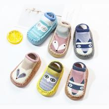 2019 Cartoon Newborn Baby Shoes Cotton Soft Bottom non-slip