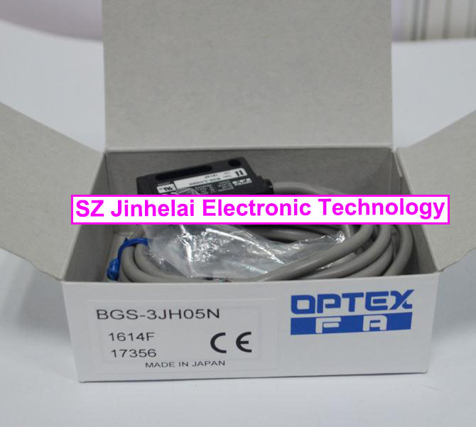 New and original BGS-3JH05N OPTEX PHOTOELECTRIC SWITCH  Photoelectric sensor new and original v4r 1200 optex photoelectric switch photoelectric sensor