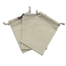 10*15cm/4*6inch organic natural cotton organza bag/gift bag/buggy bag
