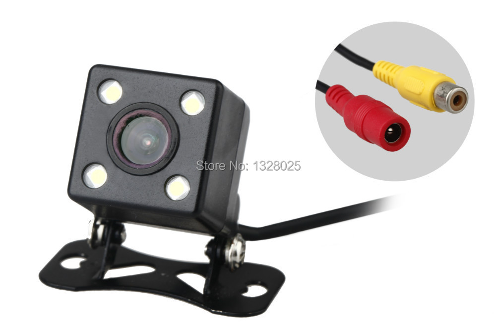 Free shopping Rear Cameras color night vision waterproof with 170 Degree universal car Can adjust the
