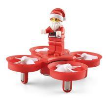 JJRC LeadingStar H67 Papai Noel Voando Mini RC Zangão Helicóptero Quadcopter 2.4G 4CH Colorido Modo Headless Tijolo Do Brinquedo Do Natal