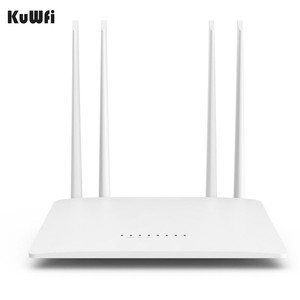 Image 3 - KuWfi 300Mbps Wireless Router 2.4G High Speed Home Wifi Router Wireless Repeater /AP With 4*5dBi&Antennas Support 32 Devices