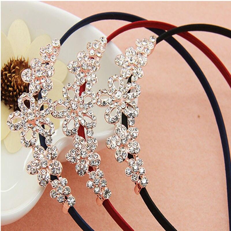 Charming Girls Hair Accessories Princess Tiaras Crowns Butterflies Headbands