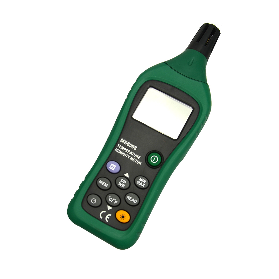 Hot Sale High Sensitive Accuracy Digital Industrial Grade Hygrometer MS6508 Portable Thermometer Temperature Humidity Meter