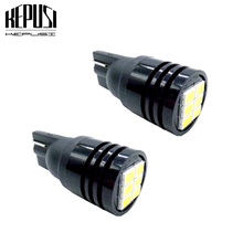 2x W5W T10 Wedge LED Bulbs Interior Car Led Lights 194 168 Car Interior Dome Map Door Parking License Plate Light 12V 24V white цена в Москве и Питере