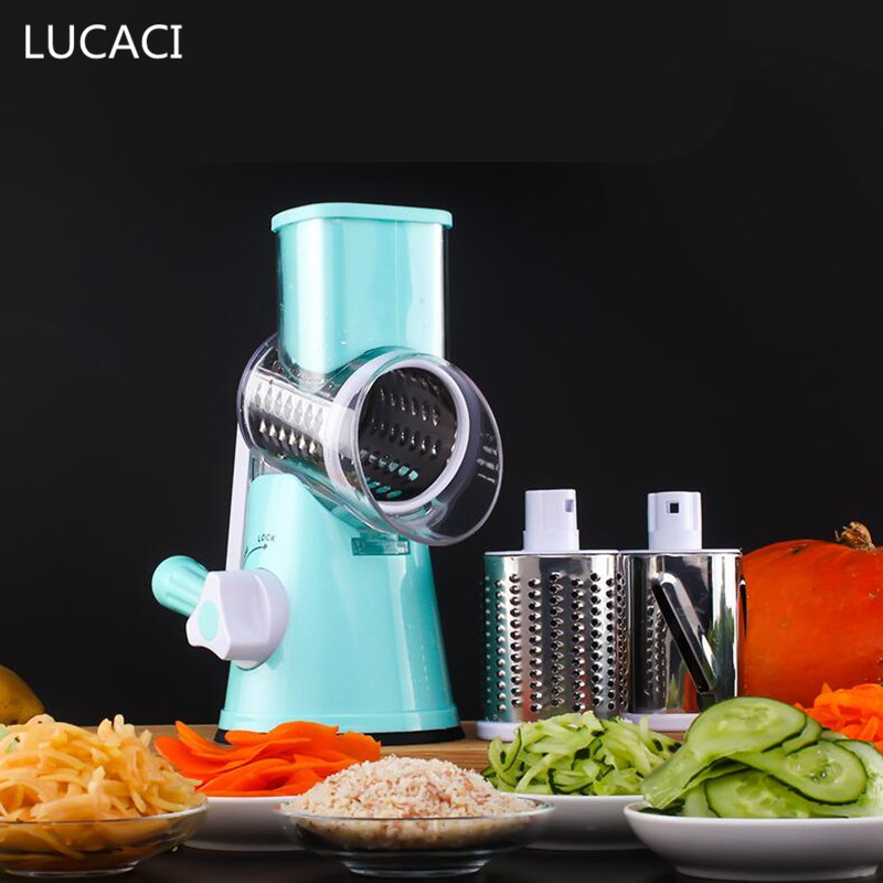 Mandoline Slicer Manual Drum Vegetable Shredder Potato Julienne Carrot Cheese Grater Round Stainless Steel Blade vertical stainless steel electric shredder commercial vegetable slicer professional vegetable shredder 220v 1500w 1pc