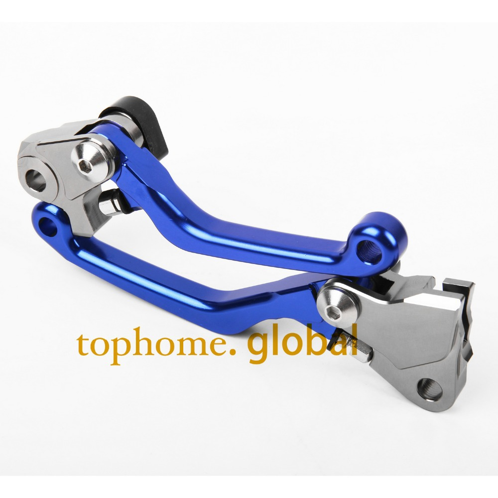 For Yamaha YZ250F 2009 - 2018 one pair CNC Pivot Brake Clutch Levers YZ 250F Lever 2010 2011 2012 2013 2014 2015 2016 2017