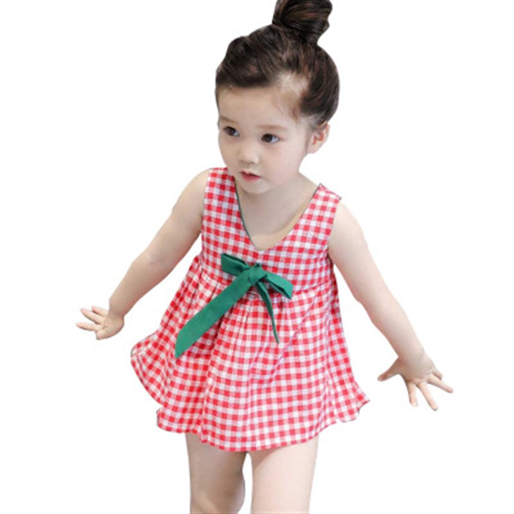 Baby Girl Dress Kids Dresses Girls Lattice Dresses Summer Kids Clothes Casual Kids Girl  ...