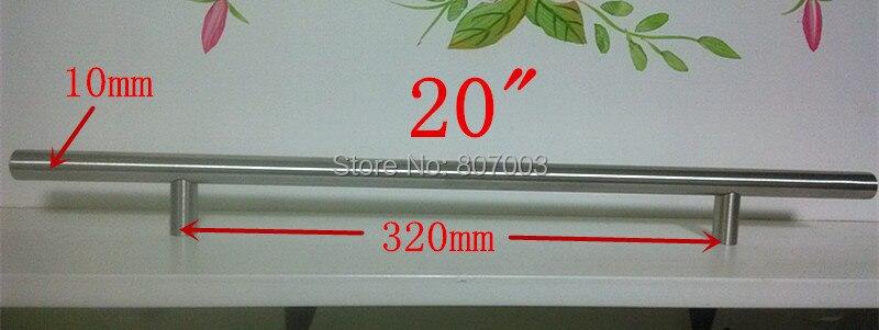 (Диаметр 10 мм, Длина: 500 мм) 20 Мебельная фурнитура Кухня ручки шкафа, бар Потяните ру ...