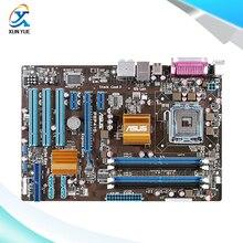 For Asus P5P41D Original Used Desktop Motherboard For Intel G41 Socket LGA 775 For DDR2 8G SATA2 USB2.0 ATX