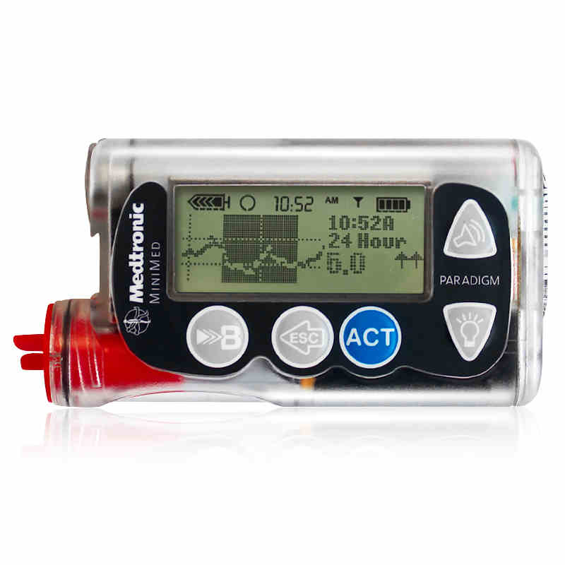 ميدترونيك الأنسولين مضخة الدم الجلوكوز امدادات MMT-722