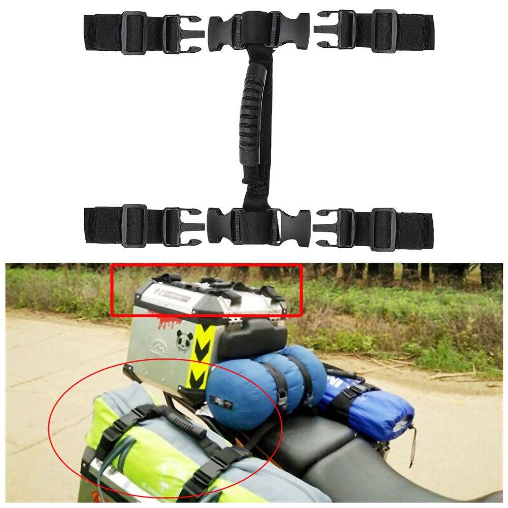 Punho da Corda para Caixa Do Lado Da Liga de Alumínio para BMW R1200GS LC ADV F700GS F800GS para KTM Aventura Universal Motos Handle corda