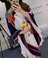 Высокое качество марка шелковый шарф женщин реального саржевые шелка большой платок 130 x 130 см лето пашмины платок темно-синий горячая украл