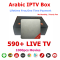 New Products 2016 Set Top Box Hot Video Player IPTV Arabic IP TV 16.2 KODIOS Arabic TV Box IPTV No Monthly Fee Free Forever