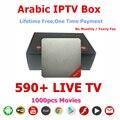 Novos Produtos 2016 Conjunto Top Box Hot Video Player IPTV Arábica IP Caixa de TV Árabe IPTV TV 16.2 KODIOS Nenhuma Taxa Mensal Livre Para Sempre