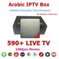 Nuevos Productos 2016 Unidades Top Box Reproductor de Vídeo IP IPTV Árabe Caliente TV 16.2 Caja de la TV Árabe IPTV KODIOS Sin Cuota Mensual Libre Para Siempre