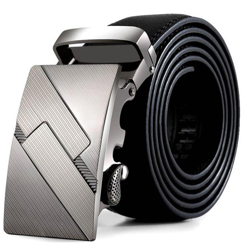 Belt Buckle Metal Men Leather Automatic Buckle Belts Fashion Waist Strap Belt Waistband Automatic Belts Men Leather 40AG3002
