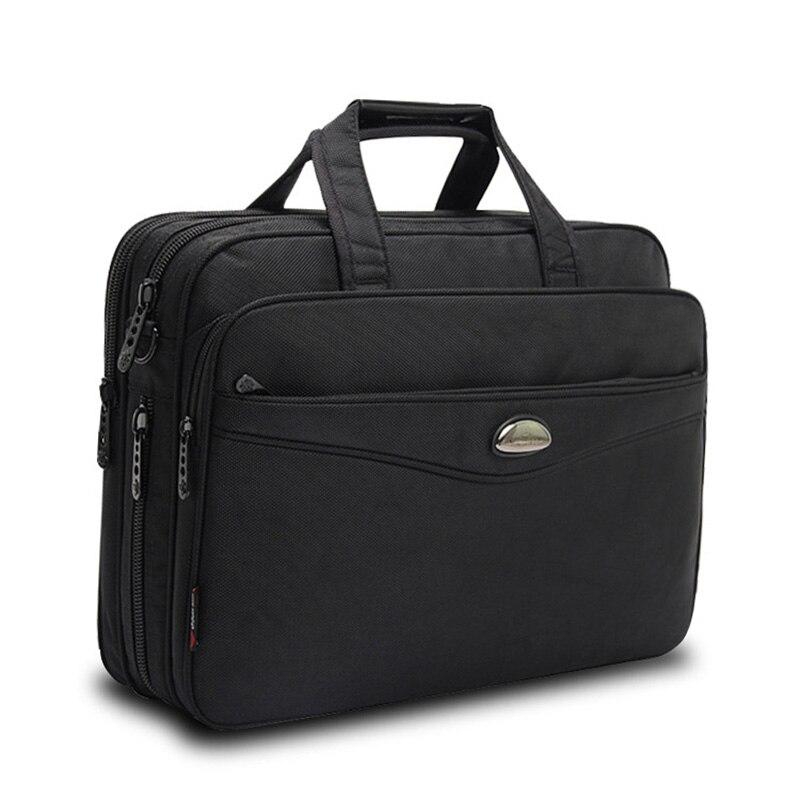 2019 Fashion Men Bag Satchels Briefcase Laptop Large Capacity Multifunction Bag Oxford Handbags High Quality Shoulder Bags Male
