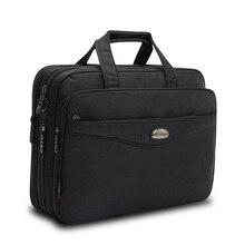 2019 mode hommes sac cartables porte documents ordinateur portable grande capacité multifonction sac Oxford sacs à main de haute qualité sacs à bandoulière mâle