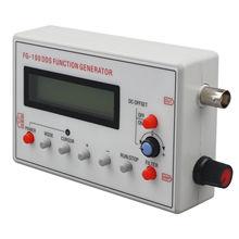 Горячая Распродажа FG-100 DDS Функция генератор сигналов счетчик частоты 1Hz-500 кГц
