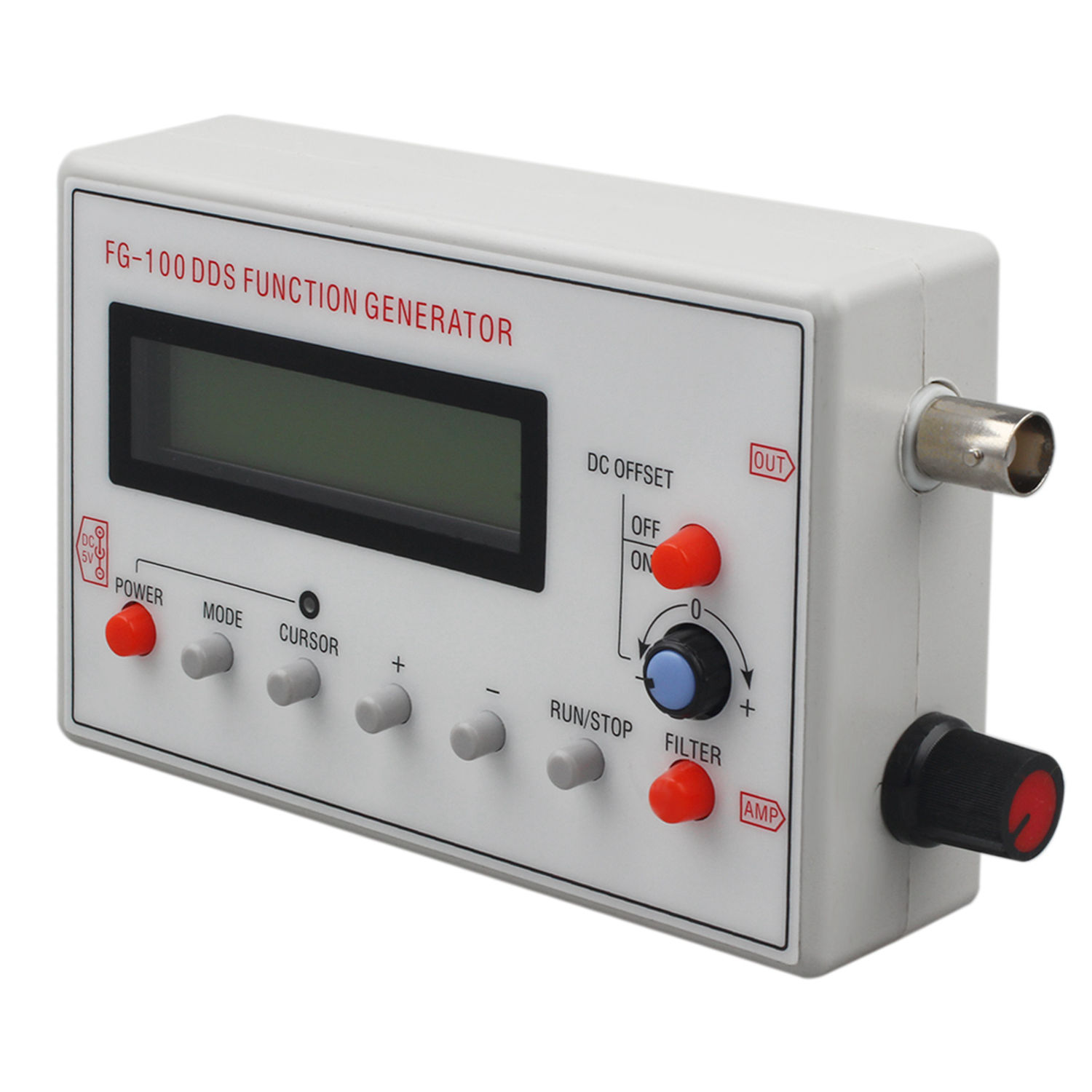 Hot sale FG-100 DDS Function Signal Generator Frequency Counter 1Hz - 500KHzHot sale FG-100 DDS Function Signal Generator Frequency Counter 1Hz - 500KHz