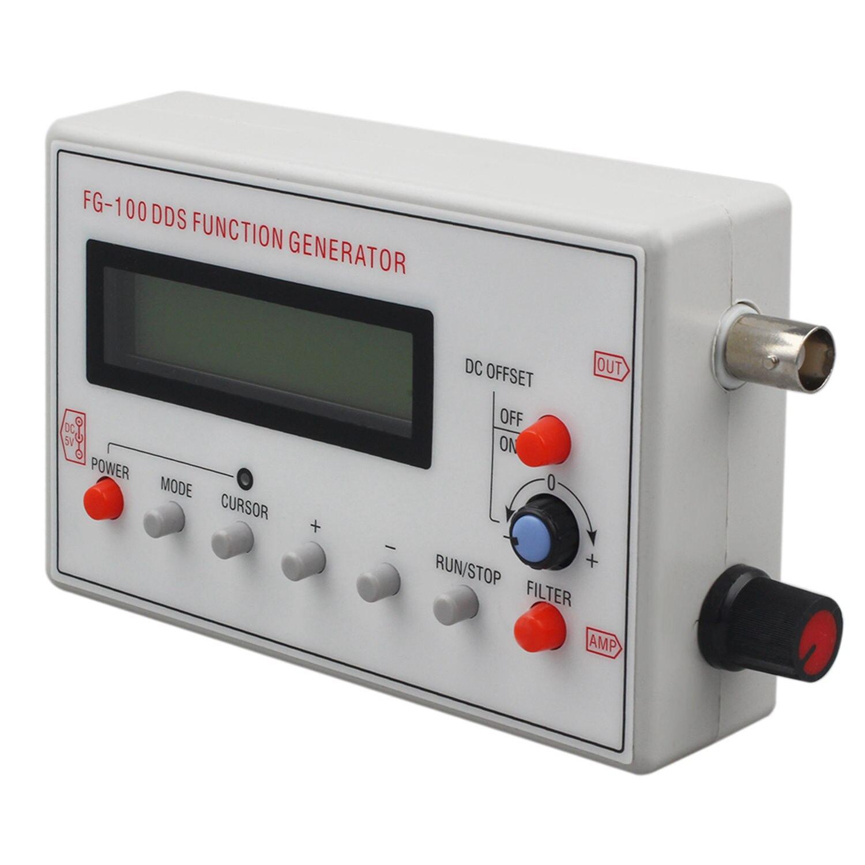Offre spéciale FG-100 DDS fonction générateur de Signal compteur de fréquence 1Hz-500 KHz