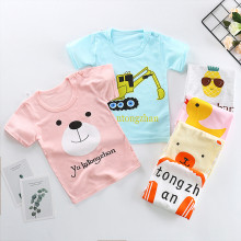 Baby Girl & Boy Clothes Baby T-Shirts 2019 Toddler Tees Cotton Summer Short Sleeve T-Shirts for Boys Girls Clothes Baby Clothes(China)