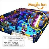 Волшебный весело Juegos infantiles игры детей спортивная площадка оборудования парк развлечений speeltoestel детский Крытый мягкой площадка