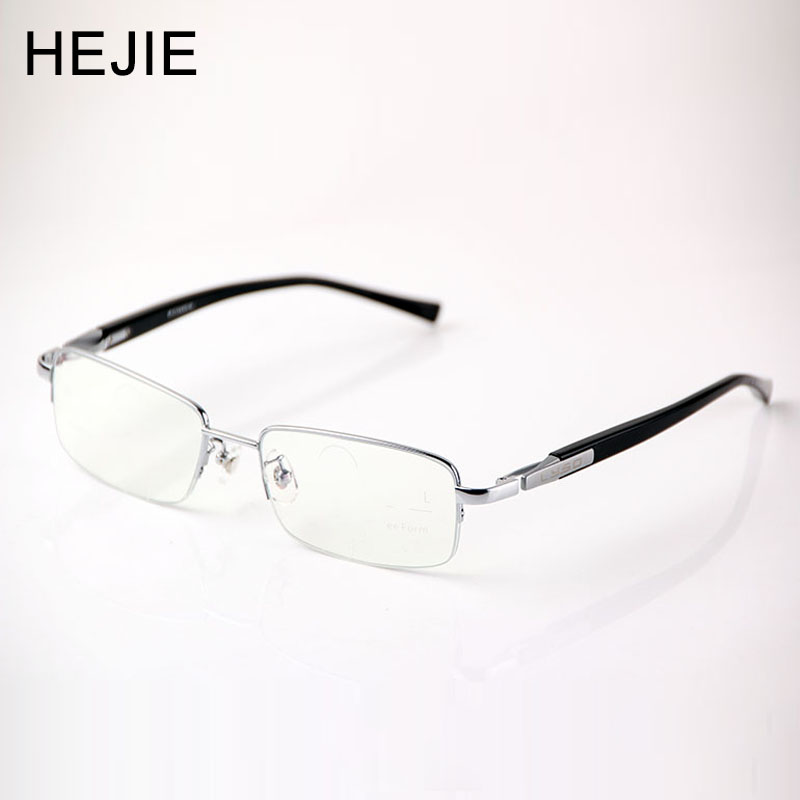 Män Big Size Pure Titanium Free Form Inner Multifocal Progressive Reading Glasses Far to Near 3 Sight Diopter + 1.0- + 2.75 Y1119