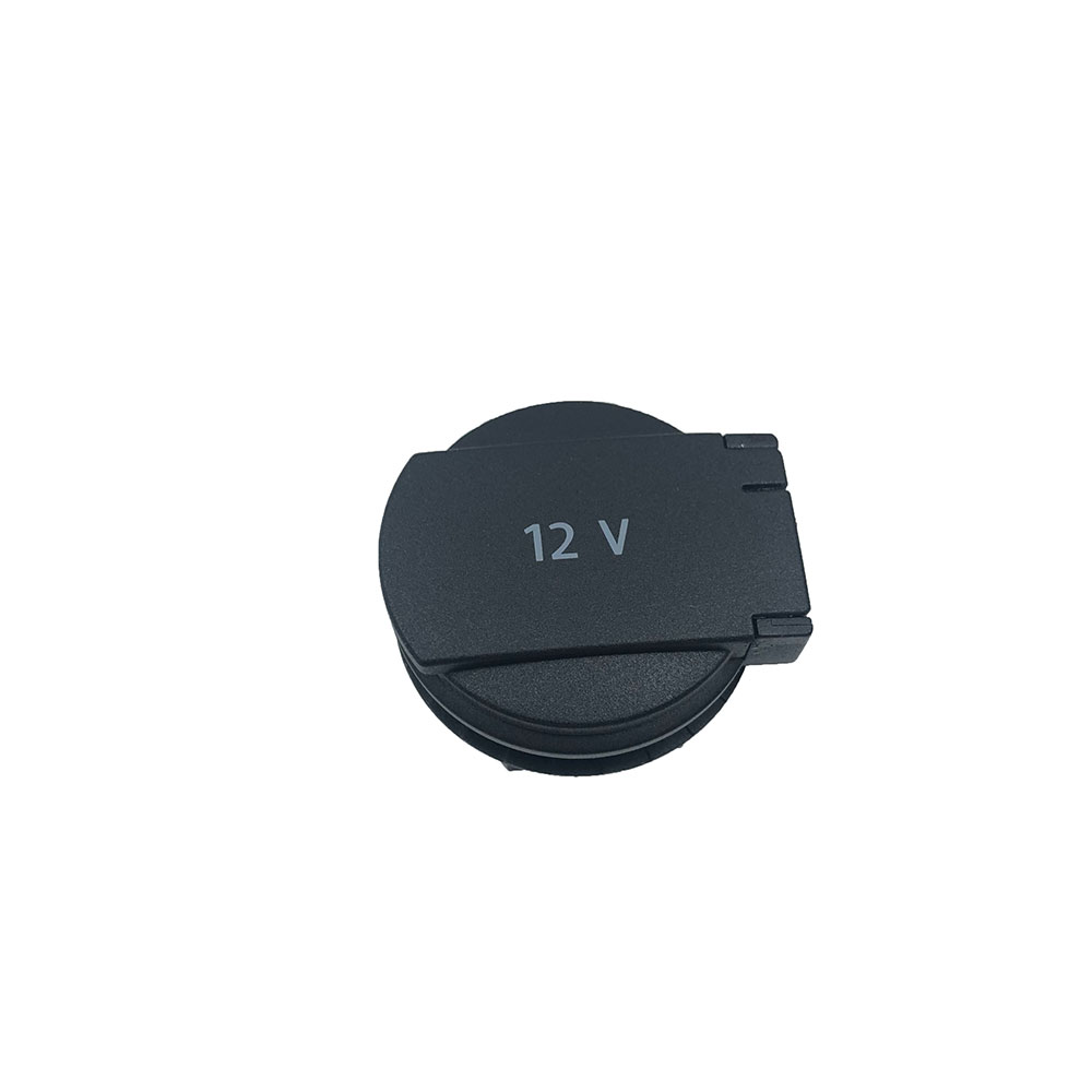 Задняя крышка для центрального подлокотника, 12 В, Расширительная Втулка и откидная крышка для VW TIGUAN, SKODA KAROQ 5ND919341A 5ND 919 341A